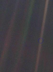 Carl Sagan Pale Blue Dot